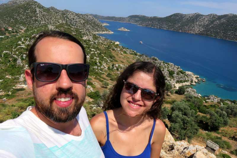 mar azul turquesa turquia