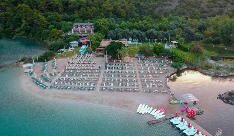 hotel com praia privativa oludeniz lagoa azul