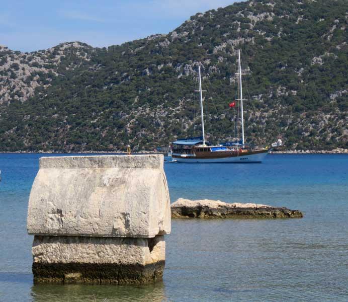 sítios arqueológicos litoral turquia